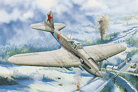 HobbyBoss IL-2 Sturmovik Ground Attack Aircraft Plastic Model Airplane Kit 1/32 Scale #83201