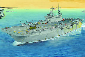 HobbyBoss USS Wasp LHD-1 Plastic Model Military Ship Kit 1/700 Scale #83402