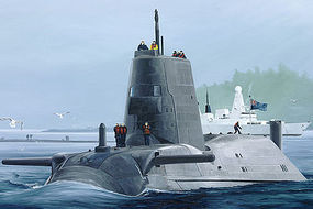 HobbyBoss HMS Astute Submarine Plastic Model Military Ship Kit 1/350 Scale #83509