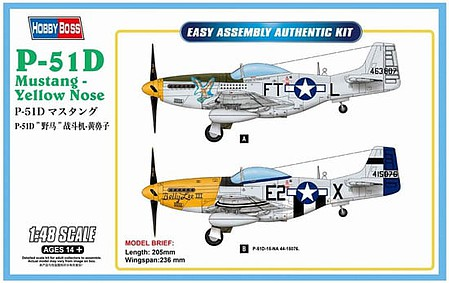 P-47D THUNDERBOLT FIGHTER HOBBY BOSS 1//48 PLASTIC KIT Easy