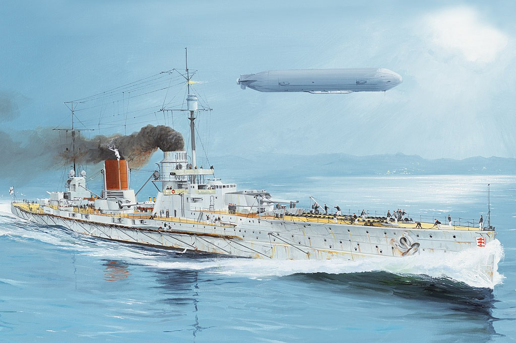 Hobby Boss 86509 HMS Agamenon in 1:350