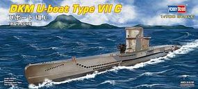 HobbyBoss U-Boat Type VII C Plastic Model Military Ship Kit 1/700 Scale #87009