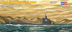 HobbyBoss USS Gato SS-212 1941 Plastic Model Military Ship Kit 1/700 Scale #87012