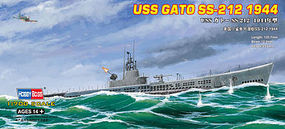 HobbyBoss USS Gato SS-212 1944 Plastic Model Military Ship Kit 1/700 Scale #87013