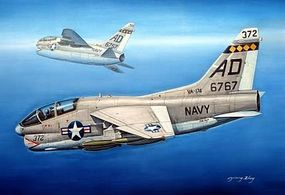 HobbyBoss TA-7C Corsair II Plastic Model Airplane Kit 1/72 Scale #87209
