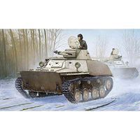 HobbyBoss Russian T-40S Light Tank Plastic Model Military Vehicle 1/35 Scale #hy83826