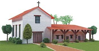 Hobbico California Mission San Francisco Solano -- Mission Project Building Kit -- #y9030
