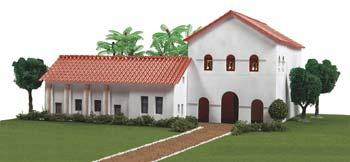 Hobbico California Mission San Luis Obispo De Tolosa -- Mission Project Building Kit -- #y9035