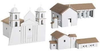 Hobbico Kit 1- Santa Barbara/Nuestra Senora/San Fernando -- Mission Project Building Kit -- #y9061