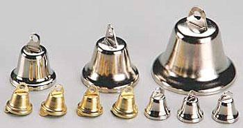 Hobbico Bells 15mm Silver (4) -- Mission Project Accessory -- #y9231