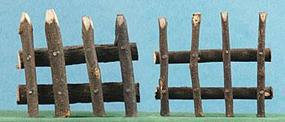 Hobbico Rustic Fence (2) Mission Project Accessory #y9462