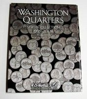 HE-Harris Vol.1, 1999 thru 2003 Washington State Quarters Coin Folder Coin Collecting Book and Sup #2580