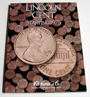 HE-Harris Lincoln Cent 1975-2000 Coin Folder Coin Collecting Book and Supply #2674