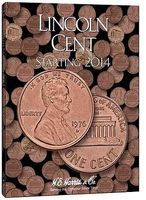 HE-Harris Lincoln Cent Starting 2014 Coin Folder Coin Collecting Book and Supply #40027