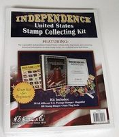 HE-Harris Independence US Stamp Collecting Kit Stamp Collecting Supply #l174