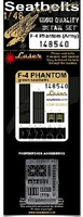 HGW-Models 1/48 F4 Phantom Army Seatbelts for ACY, EDU (Plastic/Photo-Etch Buckles)