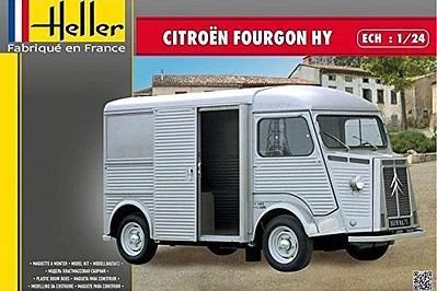 Heller Citroen Fourgon HY Panel Van Plastic Model Vehicle Kit 1/24 Scale #80768