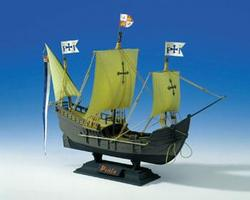 Heller Pinta Sailing Ship Plastic Model Sailing Ship Kit 1/75 Scale #80816