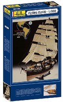 Heller Flying Cloud Sailing Ship Plastic Model Sailing Ship Kit 1/200 Scale #80830