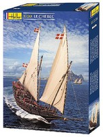 Heller Chebec Sailing Ship Plastic Model Sailing Ship Kit 1/50 Scale #80896