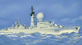 Heller Duquesne Escort Ship Plastic Model Military Ship Kit 1/400 Scale #81008