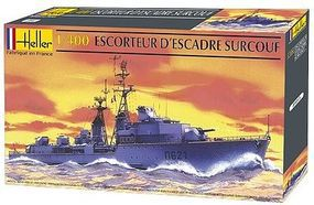 Heller Sorcouf French Destroyer Plastic Model Military Ship Kit 1/400 Scale #81013