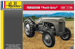 Heller Ferguson Le Petit Gris Farm Tractor (New Tool) Plastic Model Vehicle Kit 1/24 #81401