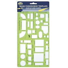 Helix Graphic Art Supplies Home Furnishing Shapes Plastic Template