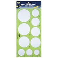 Helix-Art Large Circles (10) Plastic Template