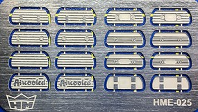 Highlight 1/24-1/25 VW Valve Cover Set (16) for TAM