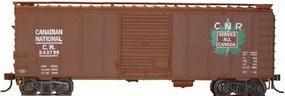 Herpa 40 Boxcar Canadian National Serves All Canada HO Scale Model Train Freight Car #12003