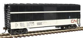 Herpa 40 Through Baggage Car Canadian National HO Scale Model Train Freight Car #12020