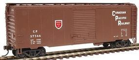Herpa 40 NSC Boxcar Canadian Pacific Railway HO Scale Model Train Freight Car #12025