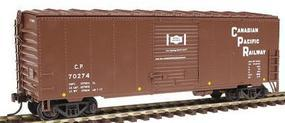 Herpa 40 NSC Rebuilt Boxcar Canadian Pacific Railway HO Scale Model Train Freight Car #12033