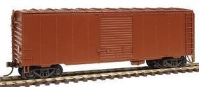 Herpa 40 NSC Rebuilt Boxcar Painted CN #11 Red, Unlettered HO Scale Model Train Freight Car #12994