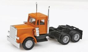 Herpa Peterbilt 3-Axle Conventional w/New Grille - Painted HO Scale Model Railroad Vehicle #15285