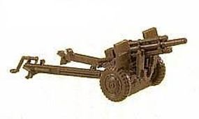 Herpa 105mm US Howitzer HO Scale Model Railroad Vehicle #183
