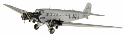 Herpa Models Junkers JU-52 - ''Lufthansa'' -- Diecast Model Airplane -- 1/400 Scale -- #19040