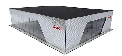 Audi Dealership 2014 Corporate Design Kit Ho Scale Model Railroad Road Accessory 303613 By