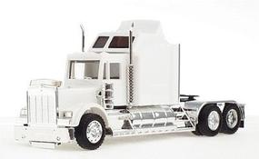 Herpa Kenworth W-900 X-Large Sleeper (Undecorated, White) HO Scale Model Railroad Vehicle #35234