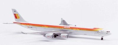 Herpa Models Airbus A - 340-600 ''Iberia'' -- Diecast Model Airplane -- 1/500 Scale -- #507479