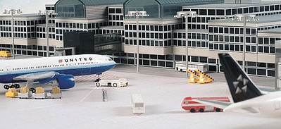 Herpa Models Airport Basic Set 1 -- Diecast Model Airplane Accessory -- 1/500 Scale -- #520362
