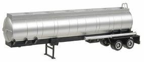 Herpa Semi Trailer (No Tractor) - Round Chemical Tank HO Scale Model Railroad Vehicle #5287