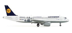Herpa Airbus 320 Lufth 100th - 1/200 Scale