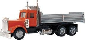 Herpa Kenworth Conventional Cab/Chassis Heavy Haul Dump Truck HO Scale Model Railroad Vehicle #6252