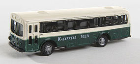 Herpa Bus Type 1 green with Light N Scale Model Railroad Vehicle #63641