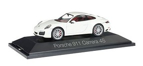 Herpa Porsche 911 Coupe white - 1/43 Scale