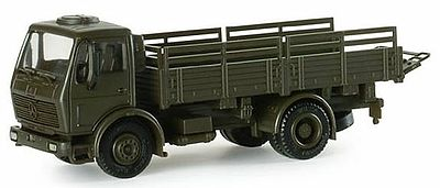 Herpa Models DB LKW 5-Ton German Army Stake-Body Cargo Truck -- HO Scale Model Railroad Vehicle -- #740098