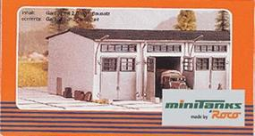Herpa Maintenance Building HO Scale Model Railroad Building #740487