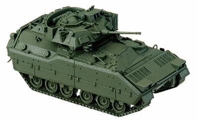 Herpa Models US/NATO Armored Fighting Vehicle M2A1/M3A1 Bradley -- HO Scale Model Railroad Vehicle -- #740623